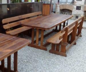 Комплект: стол и две лавки
