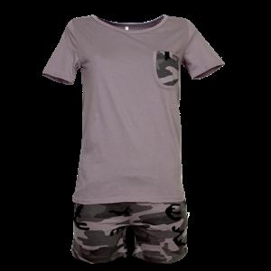 Комплект женский (футболка, шорты) 3294132