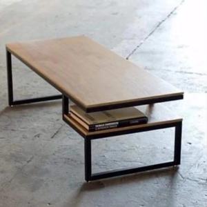 Журнальный столик с полкой