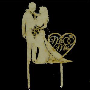 Топпер свадебный