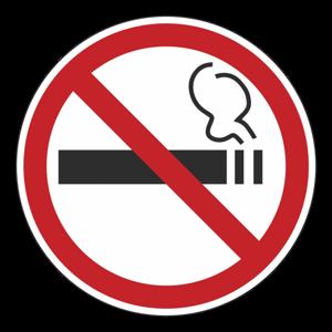 """Наклейка """"Не курить!"""""""