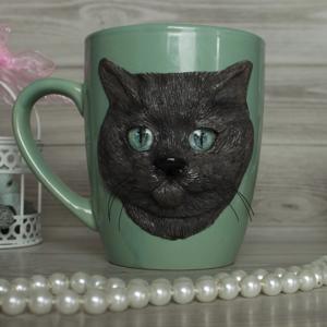 """Кружка """"Чёрный кот"""""""